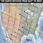 Kako znanstvenici objašnjavaju kako se sjena kreće od zapada prema istoku u ovoj pomrčini 2017.
