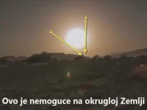 Flat Earth – Zalazak Sunca – video koji dokazuje da ne zalazi nego se udaljava.
